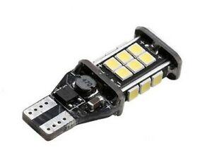 Ampoule T15 LED W16W Canbus 24 Leds Blanc 6000K Feux de recul arrière Freins