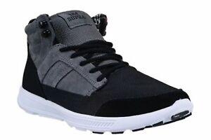 Mens Supra Bandito Lightweight Sneakers - Grey/Black, Size 7 M US [S39501]