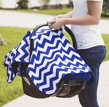 Carseat Canopy Baby Cover Keeps Infant Warm in Winter Cool in Summer