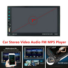 1080P Bluetooth Car Mp5 Touch Screen Player Stereo Fm Auto Interior Accessories