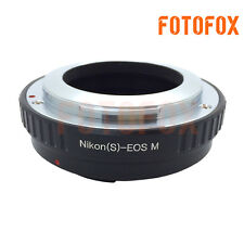 Adapter Ring Tube For Nikon S Mount Lens to Canon EOS M Mount Camera Solid Metal