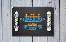 Barber Shop Sign, Metal Sign, Barber Shop Signs, Modern Style, Barber Shop, 690