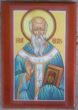 EASTERN ORTHODOX ICON OF ST . AIDAN