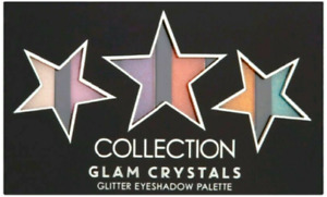 Collection Glam Crystals 6pc Glitter Eyeshadow Palette  NEW