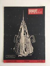 25. Mai 1958 Heft 21 Sowjetunion heute Sputnik 3 TU-114 Motorsport in UdSSR TOP