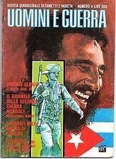 FUMETTO RIVISTA - UOMINI E GUERRA - N. 4 ANNO 1 GIUGNO 1977 ED. DARDO FUMETTI