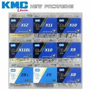 KMC Bike Chain X8 X9 X10 X11 X12 Chain Road MTB 8 9 10 11 12s 116L