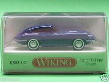 1:87 Wiking 080302 Jaguar E-Type Coupè - dunkelblau Blitzversand per DHL-Paket