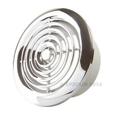 """100mm/4"""" Chrome Extract Grille"""