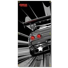 Status Error Real Three Two Workshop Banner (R32 / GTR / Skyline / Nissan / JDM)