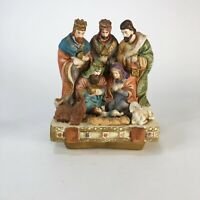 "Vintage ceramic nativity  7"" x 6"""