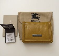BURBERRY LEATHER COIN AND CARD CASE Rare