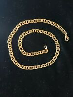 Mariner 18 Inch Chain Necklace 6.7mm Link Gold Tone