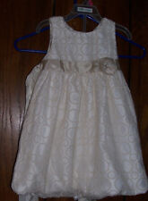 Savannah Girls Dress 4T Sleeveless Wedding Church Communion