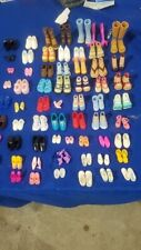 BARBIE? MINIATURE? HASBRO? MATTEL? MIXED DOLL ACTION FIGURES SHOES LOT #8