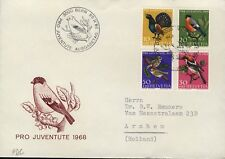 "SUISSE / SWITZERLAND / SCHWEIZ 1968 Mi.891/4 ""Pro Juventute"" set on FDC"
