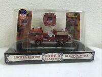 Code 3 Classic FDNY Mack C Pumper #65 Limited Edition 1:64 Scale NIB