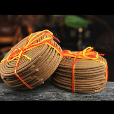 Tibetan Tibet Buddhist Pure Natural Coil Incense Pay Respect for Buddha 4hours )