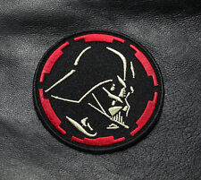STAR WARS DARTH VADER EMBROIDERED 3 INCH IRON ON  PATCH