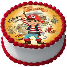 Tortenaufleger Pirat In Kuchen Geback Gunstig Kaufen Ebay