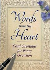 Words from the Heart,Tim Glynne-Jones,Very Good Book mon0000102345