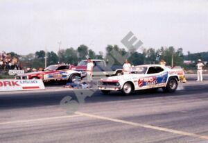 Gene Snow Man vs Don the Snake Prudhomme York US30 Drag Racing 13x19 Photo 124