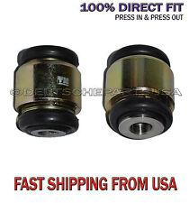 Lincoln LS Rear Lower Control Arm Fluid Hydrabushes Bushings for 2000-2006 SET 2