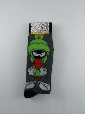Hyp Looney Tunes Marvin The Martian Crew Socks 2 Pairs Sz 6-12 Nwt Adult Size