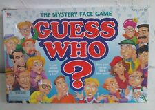 Guess Who? Mystery Face Board Game 1998 Milton Bradley