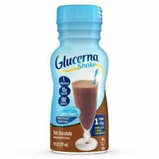 Glucerna Rich Chocolate Flavor shake Meal Replacement 8oz ( Pack of 24 )