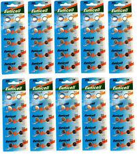 ENVOI AVEC SUIVI -  EUNICELL Lot de 100 piles AG6 371A LR920 LR921 SR69  GP71