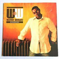 WAYNE WONDER - No Holding Back 2003 Reggae Dancehall Lovers 2x Vinyl LP VG/G+