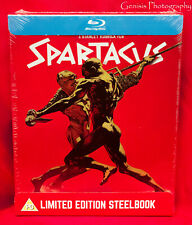 Spartacus (Blu-ray Steelbook) 55TH ANNIVERSARY EDITION - BRAND NEW