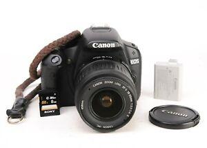 Canon EOS 500D DSLR Camera + EF-S 18-55mm II Zoom Lens Kit 12,982 Shots EXC