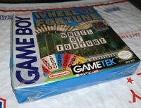 Wheel of Fortune (Nintendo Game Boy, 1990) Sealed Rare  FAST S&H!