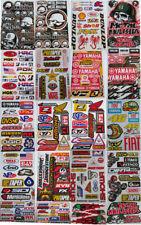 Motocross Racing Decal Sticker Kit Set 20 Sheets #HD-601