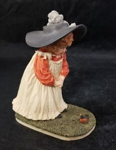 Hamilton Collection Maud Humphrey Bogart Figurine A Little Robin 7741/19500 Girl