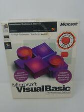 Microsoft Visual Basic 5.0 Professional Edition Retail Workstation Plus Extras.