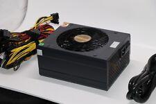 1600W Modular Power Supply For 6 GPU Eth Rig Ethereum Coin Mining Miner Machine!