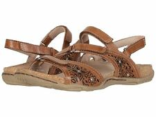 Earth Shoes Sand Maui ALPACA 2 Brown Comfort Leather Women's Sandal