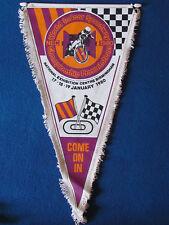 Vintage Speedway Pennant - World Indoor Championship - 1980 - Birmingham