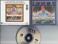 STYX Paradise Theatre 1980-1988 CD WEST GERMANY  A&M 393 240-2 Full Silver
