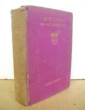 My Life As An Explorer by Sven Hedin 1926 Hardcover First Edition