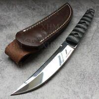 XHM 24.5CM Fixed Blade Knife Tactical Tanto Hunting Camping Bayonet Boot Knives