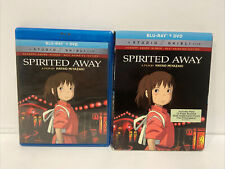 Spirited Away Blu-ray Dvd, 2-Disc Set 2017 with Slip Cover