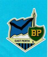 EAST PERTH & BP Vinyl Decal Sticker PETROL PROMO WAFL afl vfl FOOTBALL