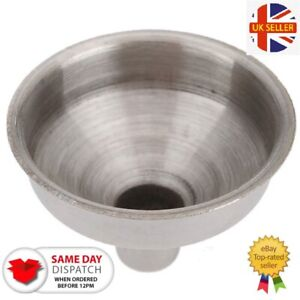 Stainless Steel Funnel Hip Flask Liquids Oil Kitchen Strainer 8mm