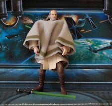 Figura De Star Wars Qui-Gon Potj 2000 Colección Yinn (Mos Espa Disfraz)