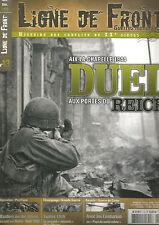 LIGNE DE FRONT N°13 AIX-LA-CHAPELLE 1944 DUEL AUX PORTES DU REICH /  CENTURIONS