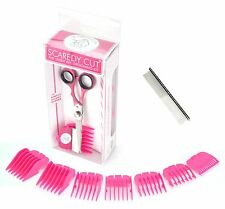 Scaredy Cut Silent Pet Clipper with Safari Grooming Comb for Dogs
